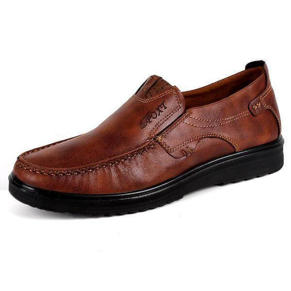 Men Casual Comfy  Microfiber Leather Shoes