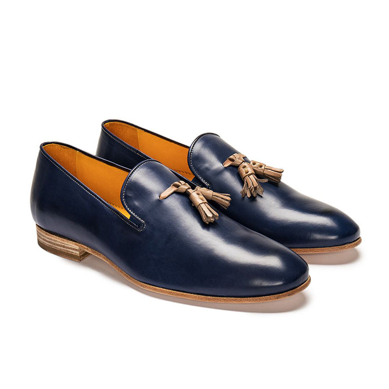 Handcrafted Men's Tassel Loafers