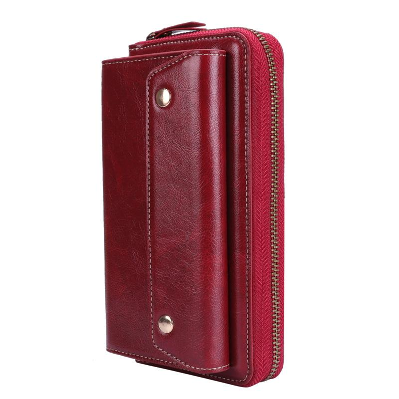 Universal Multifunctional Rope Phone Flip Zipper Wallet