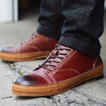 Vintage Men's Leather Casual Shoes