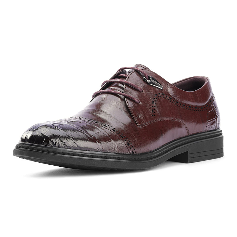 Men Lace UP Vintage Style Formal Shoes