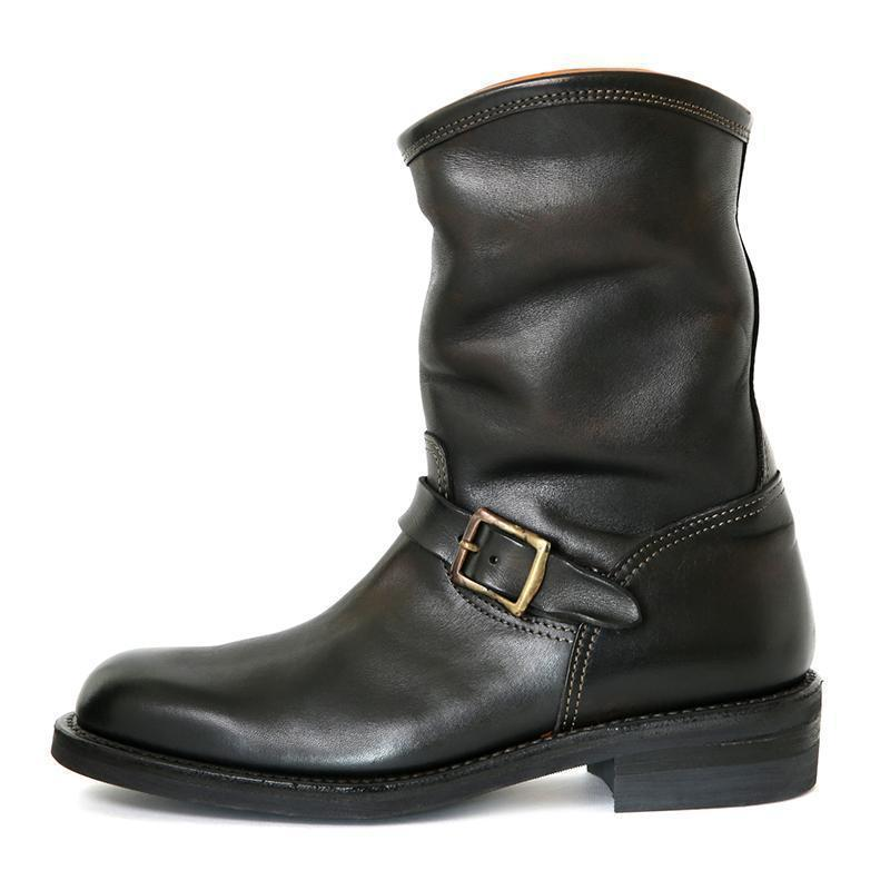 High Top Genuine Leather Boots