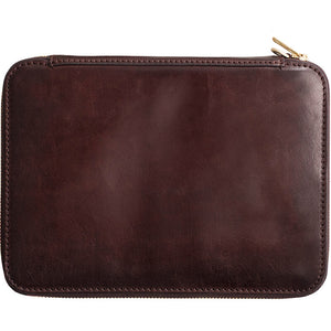 Vintage Leather A4 File Bag Business Handbag Briefcase