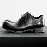 Mens Horse Leather  Lace-up Shoes