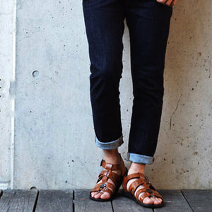Men's Leather Gladiator Sandals