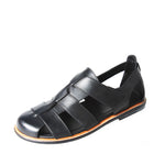 Men Vintage Real Leather Sandals