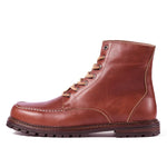 Men Vintage British Martin Leather Boots