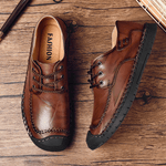 British Soft Sole Hand-stitching Casual Shoes