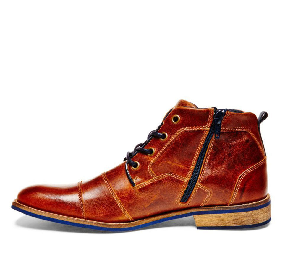 Men's Leather Retro Boots