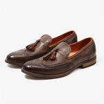 Men Genuine Casual Leather Loafers