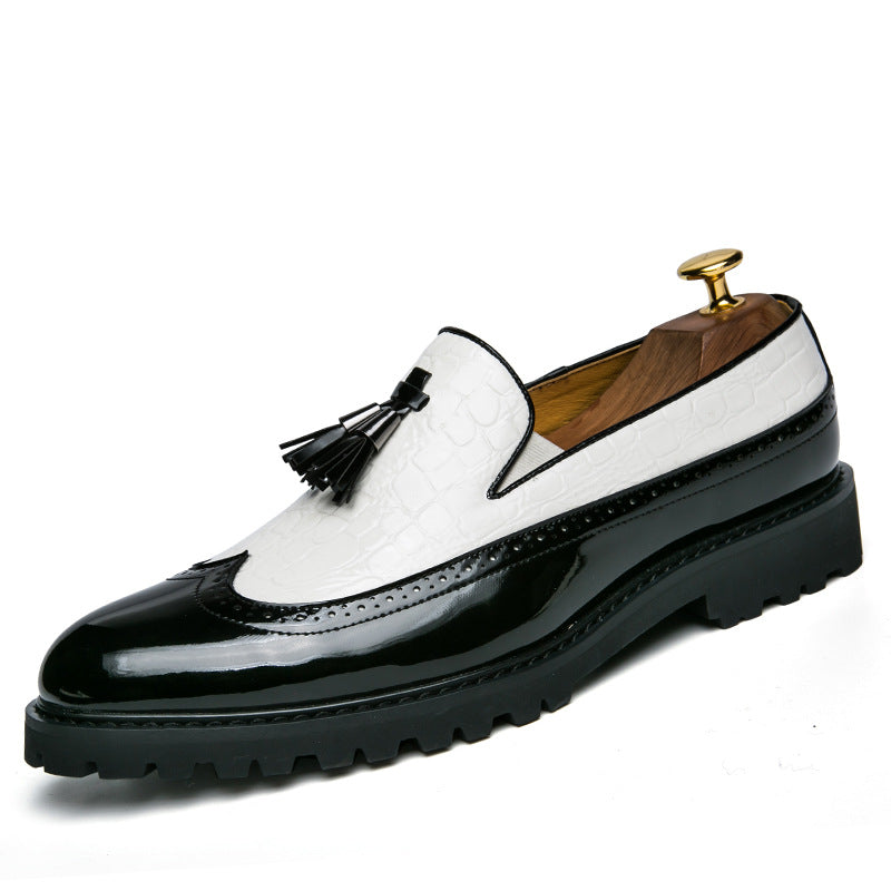Men Vinatge Summer Leather Loafers