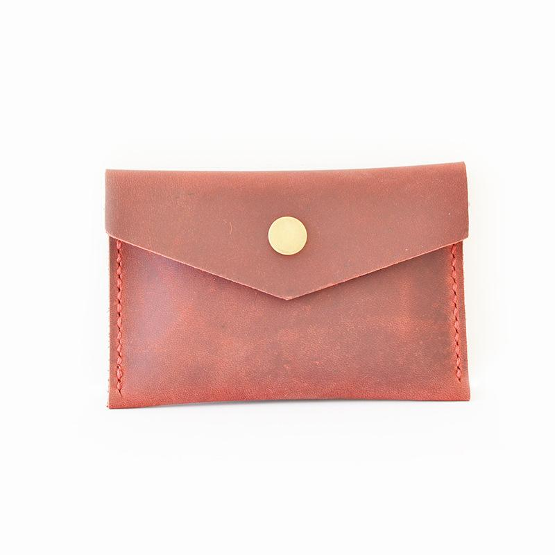 Vintage Handmade Leather Wallet