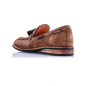 Men's Casual Suede Loafers Leather Shoes
