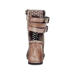 Gorgeous Stars Moon Leather Handmade Boots