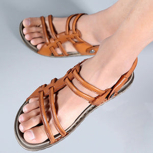 Handmade Vintage Leather Casual Sandals