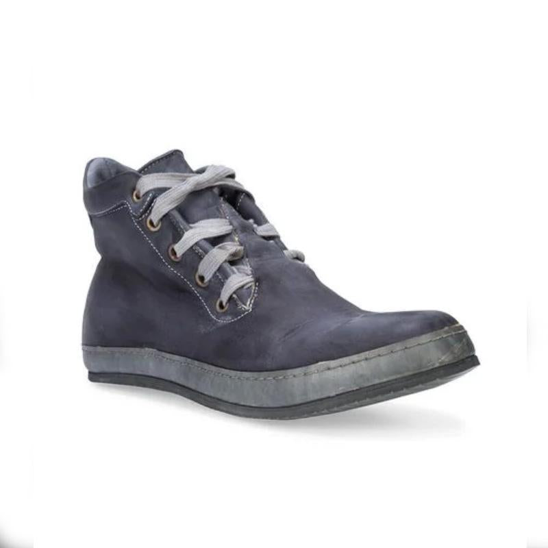 Men Vintage Lace-up Sneakers