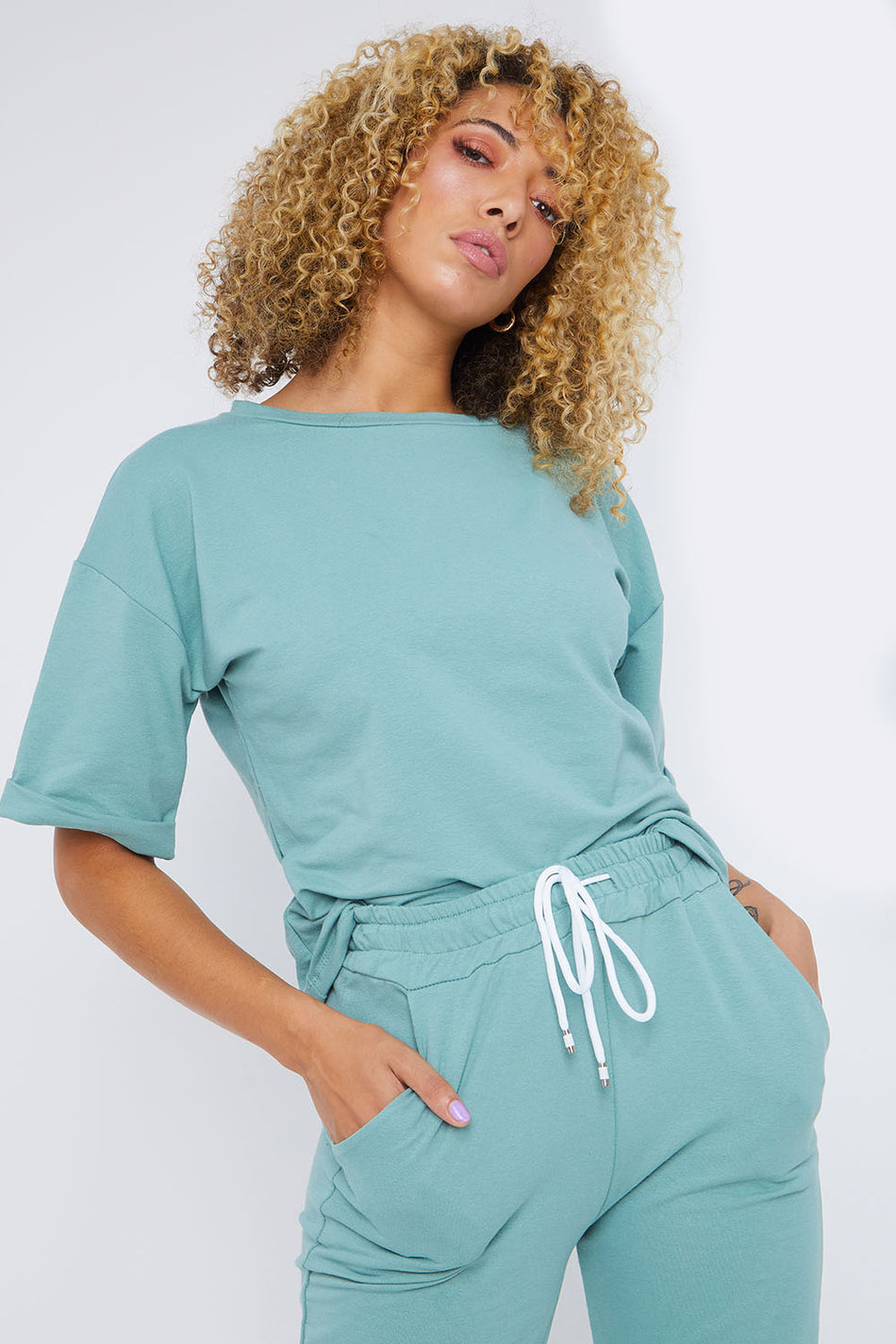 Mint Green Loungewear Set