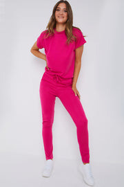 Roze loungewear-set