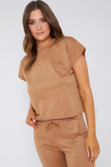 Caramel Loungewear Set