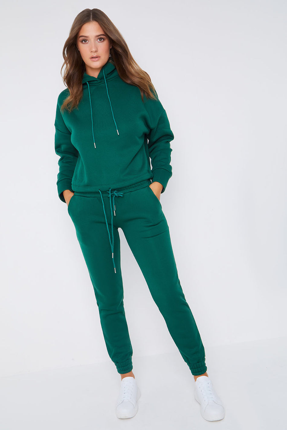 Emeral Green Loungewear Trainingsanzug
