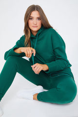 Emeral Green Loungewear Tracksuit
