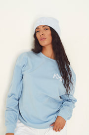 Baby blauw oversized MM Sweatshirt