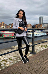 Grey COCO Paris Sweatshirt