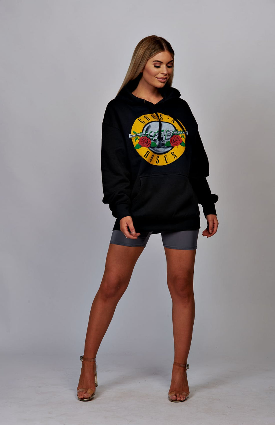 Bluza z kapturem Black Guns & Roses