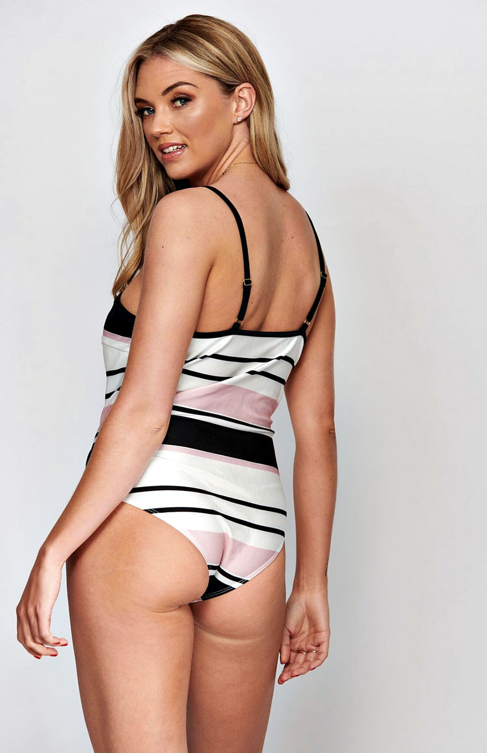 Multi Stripe Swimsuit