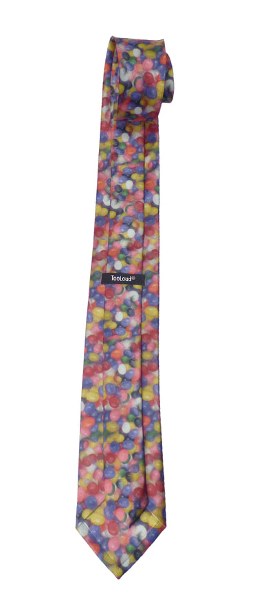 Jelly Bean All Over Print, Easter Necktie