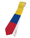Colombia Flag AOP Printed White All Over Print