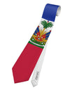 Haiti Flag AOP Printed White All Over Print