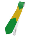 Jamaica Flag AOP Printed White All Over Print