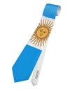 Argentina Flag AOP Printed White All Over Print