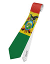 Bolivia Flag AOP Printed White All Over Print