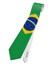 Brazil Flag AOP Printed White All Over Print