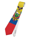 Ecuador Flag AOP Printed White All Over Print