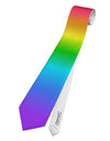 Horizontal Rainbow Gradient Printed White All Over Print by