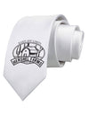 Hershel Farms Printed White Necktie
