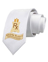 Golden Fleece - Supernatural Panacea Printed White Necktie