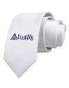 Always Magic Symbol Printed White Necktie
