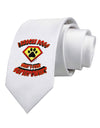 Rescue Dogs - Superpower Printed White Necktie