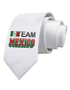 Sporty Team Mexico Printed White Necktie