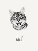 Load image into Gallery viewer, Custom Cat Portrait