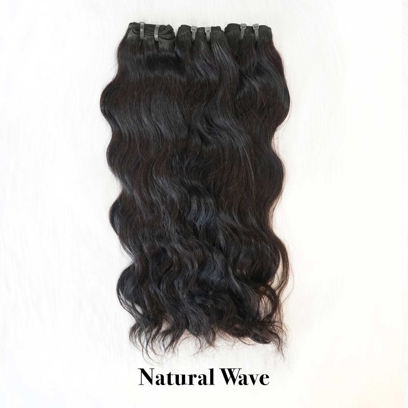 Natural North Indian Temple Hair