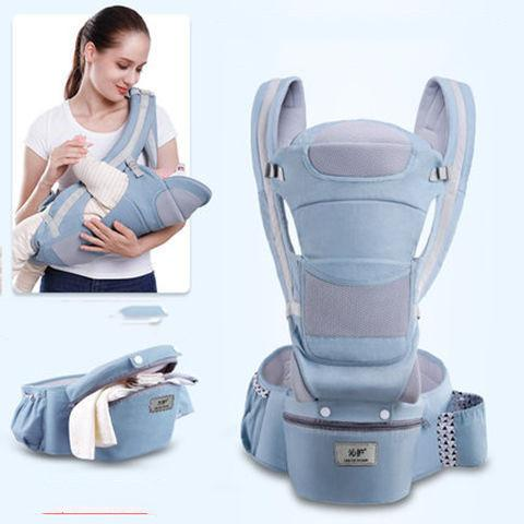 Ergonomic Baby Carrier and Baby Wrap