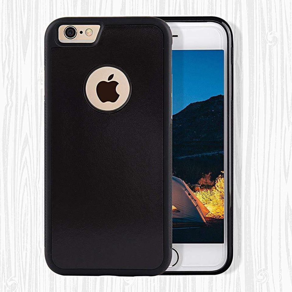 Black Clear Anti Gravity Apple Phone Case - Joy Values