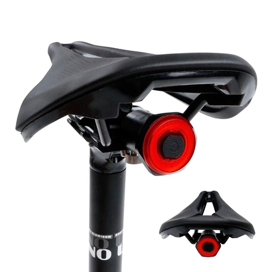 Smart Bicycle Rear Light Auto Start-Stop Brake Sensing USB Rechargeable