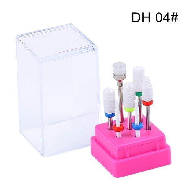 Electric Nail File with Nail Bits Complete Nail Drill Machine