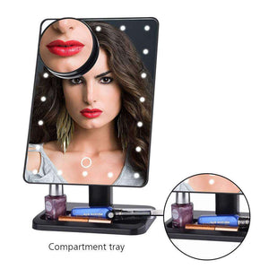 Bluetooth Speaker LED Makeup Mirror - Joy Values